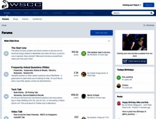 forum.wscc.co.uk screenshot