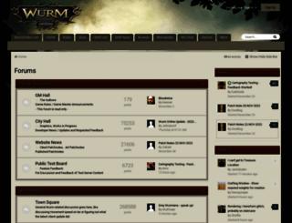 forum.wurmonline.com screenshot