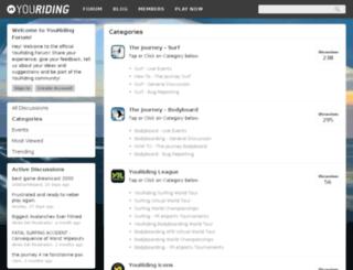 forum.youriding.com screenshot