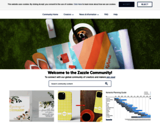forum.zazzle.es screenshot