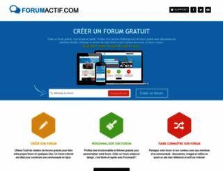 forumactif.com screenshot