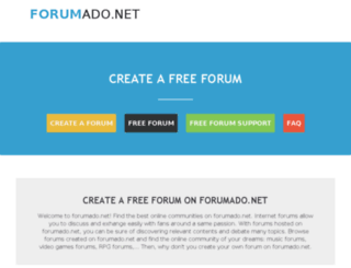 forumado.net screenshot
