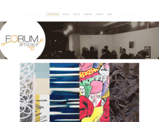 forumartspace.com screenshot