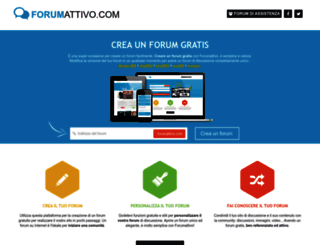 forumattivo.com screenshot