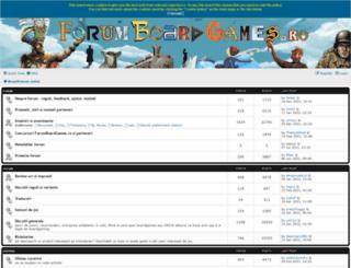 forumboardgames.ro screenshot