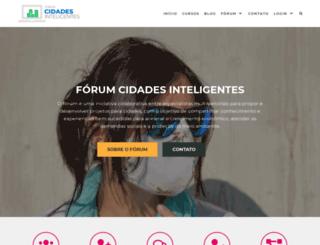 forumcidadesinteligentes.info screenshot