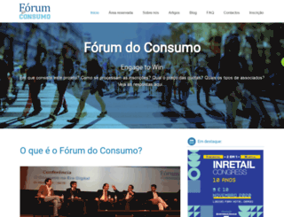 forumconsumo.com screenshot