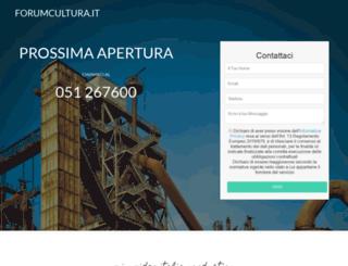 forumcultura.it screenshot
