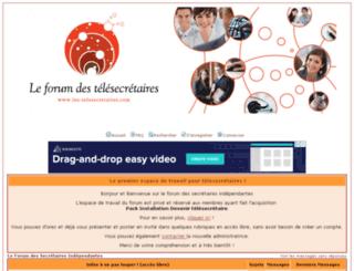 forumdessecretaires.discutforum.com screenshot