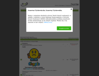 forumdogs.fora.pl screenshot