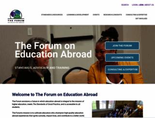 forumea.org screenshot