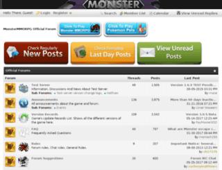 forumen.pokemoncraft.com screenshot