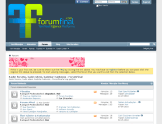 forumfinal.com screenshot