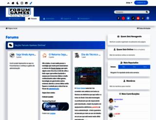 forumgames.com.br screenshot