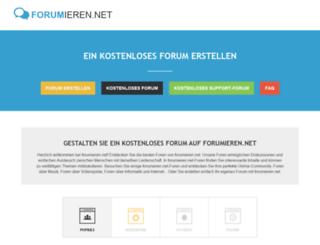 forumieren.net screenshot