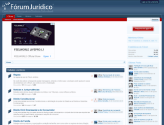 forumjuridico.org screenshot