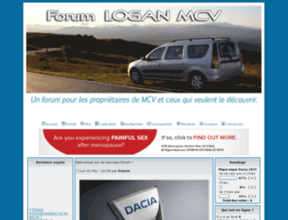forumloganmcv.com screenshot
