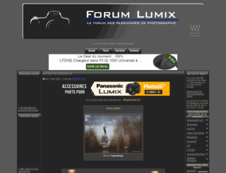 forumlumix.com screenshot