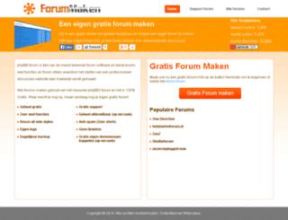 forummaken.nl screenshot