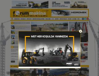 forummakina.com.tr screenshot