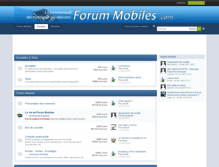 forummobiles.com screenshot