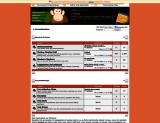 forummonkeys.com screenshot