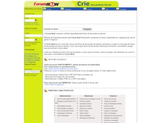 forumnow.com.br screenshot