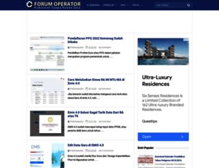 forumoperator.blogspot.com screenshot