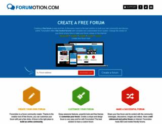forumotion.com screenshot