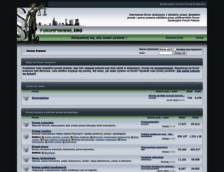 forumprawne.org screenshot