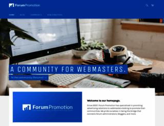 forumpromotion.net screenshot
