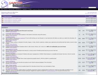 forums-web2.gentoo.org screenshot