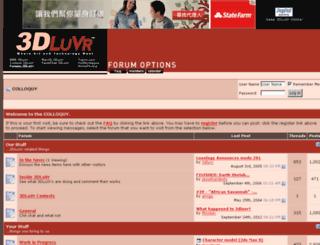 forums.3dluvr.com screenshot