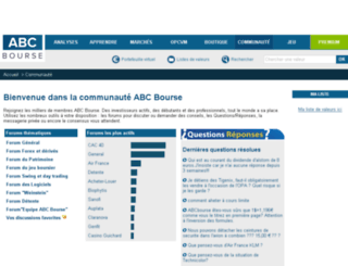 forums.abcbourse.com screenshot