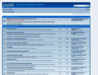 forums.ablecommerce.com screenshot