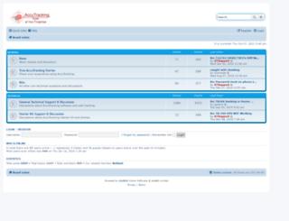 forums.accutracking.com screenshot
