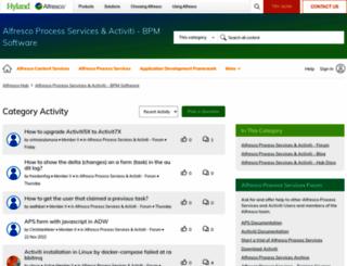 forums.activiti.org screenshot