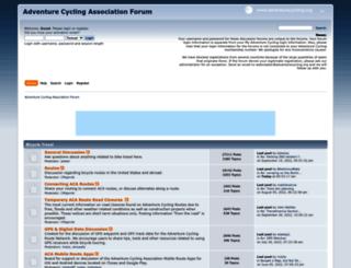 forums.adventurecycling.org screenshot