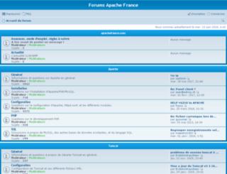forums.apachefrance.com screenshot