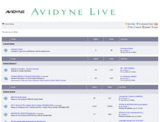 forums.avidyne.com screenshot