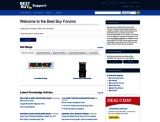 forums.bestbuy.com screenshot