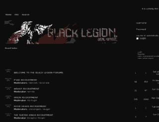 forums.black-legion.us screenshot