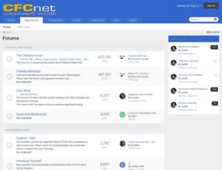 forums.cfcnet.co.uk screenshot