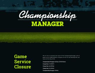 forums.championshipmanager.co.uk screenshot