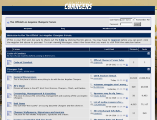 forums.chargers.com screenshot