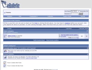forums.chat-palestine.com screenshot