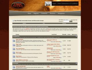 forums.cigarweekly.com screenshot