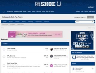 forums.colts.com screenshot