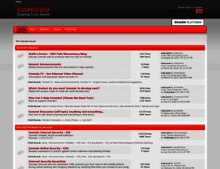 forums.comodo.com screenshot