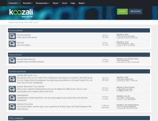 forums.contribs.org screenshot